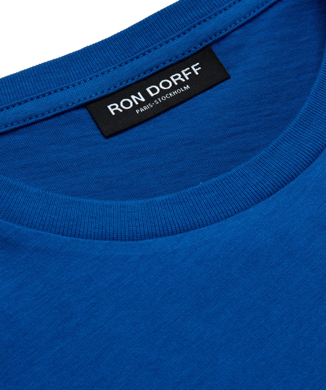 Ron Dorff T-shirt Klein Blue