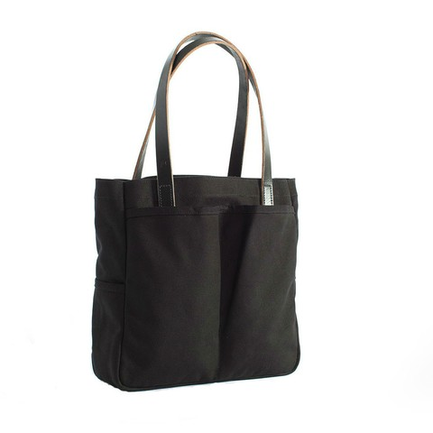 Utility Tote in Black