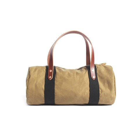 Mini Duffle in Safari Wax